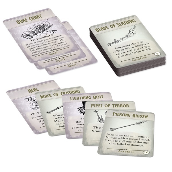 Kings of War 3rd Edition Spell & Artefact Cards image