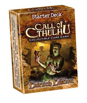 Call of Cthulhu :  Eldritch Edition Starter Deck (CCG)