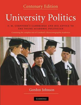 University Politics by Gordon Johnson image