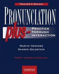 Pronunciation Plus Teacher's manual by Martin Hewings image