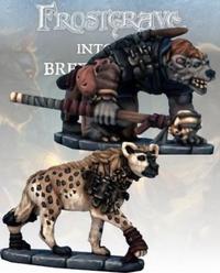 Frostgrave Gnoll Tracker & War Hyena