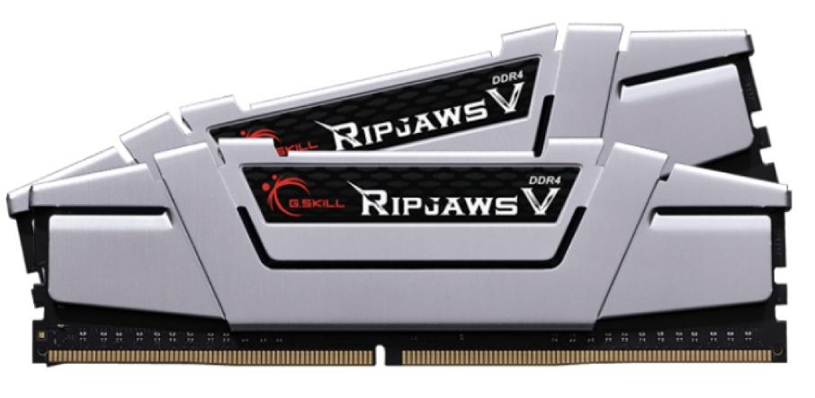 2 x 8GB G.SKILL Ripjaws V 2666Mhz DDR4 Ram - Silver image