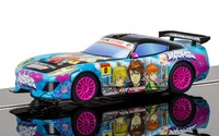 Scalextric: GT Lightning Team GT Sunset (Anime Blue) - Slot Car
