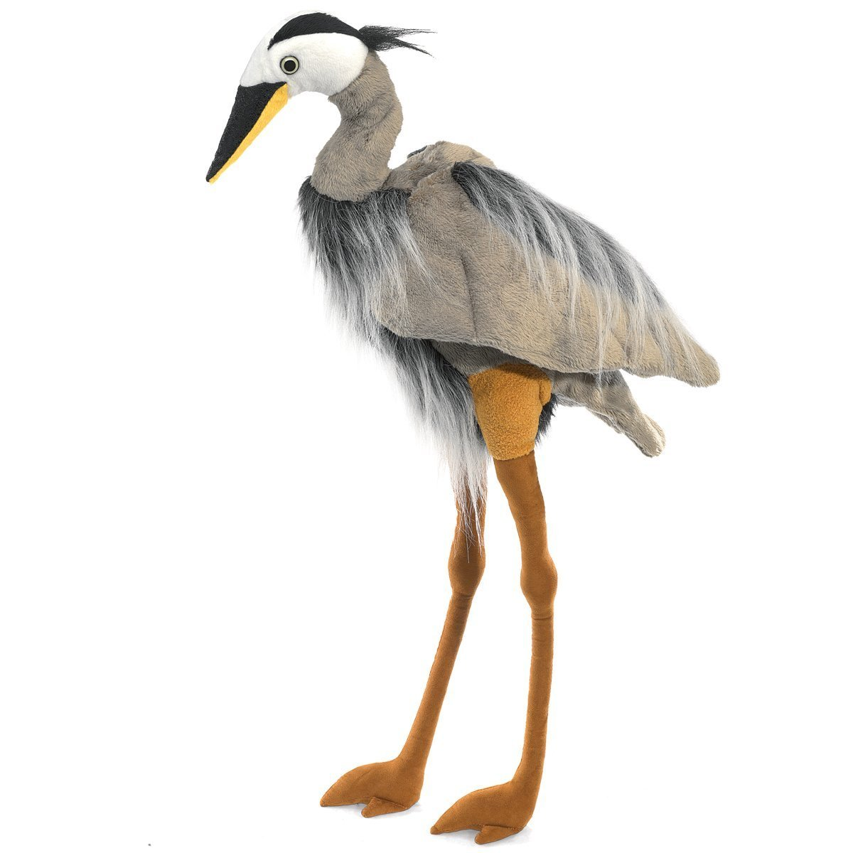Folkmanis Hand Puppet - Great Blue Heron image