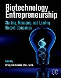 Biotechnology Entrepreneurship