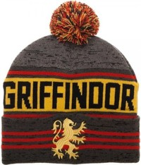 Harry Potter: Gryffindor - Jacquard Rolled Knit Beanie