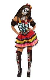 Day of the Dead Senorita Costume (Medium) image
