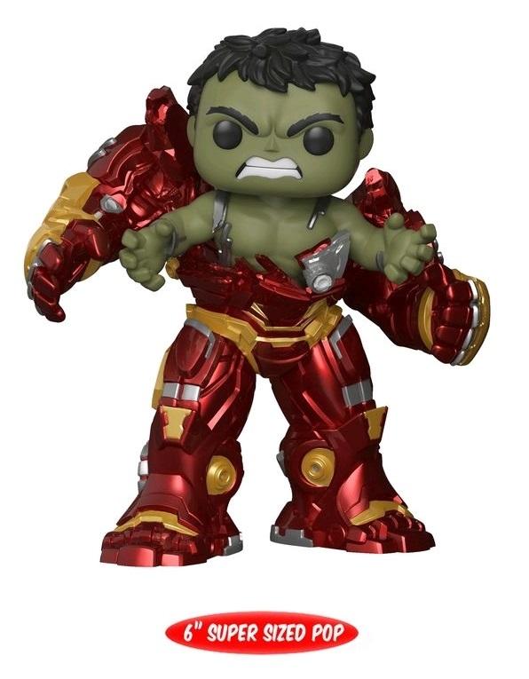 Hulk Hulkbuster 6 Quot Pop Vinyl Figure At Mighty Ape