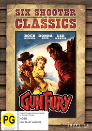 Gun Fury (Six Shooter Classics) on DVD