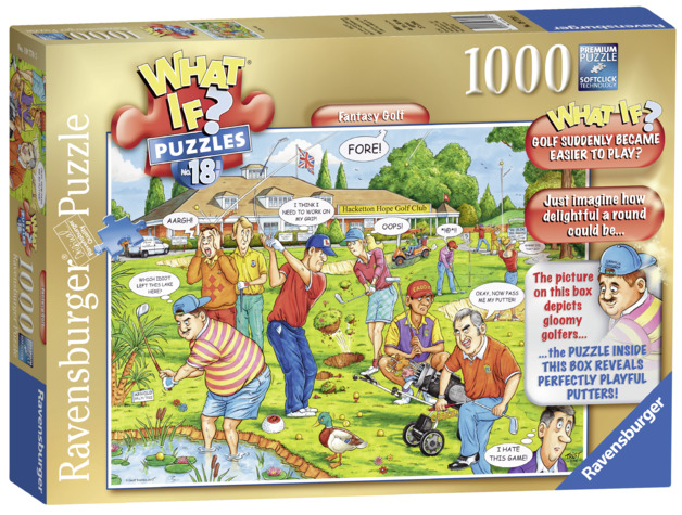 Ravensburger: 1,000 Piece Puzzle - What If? (Golf Was Easy)
