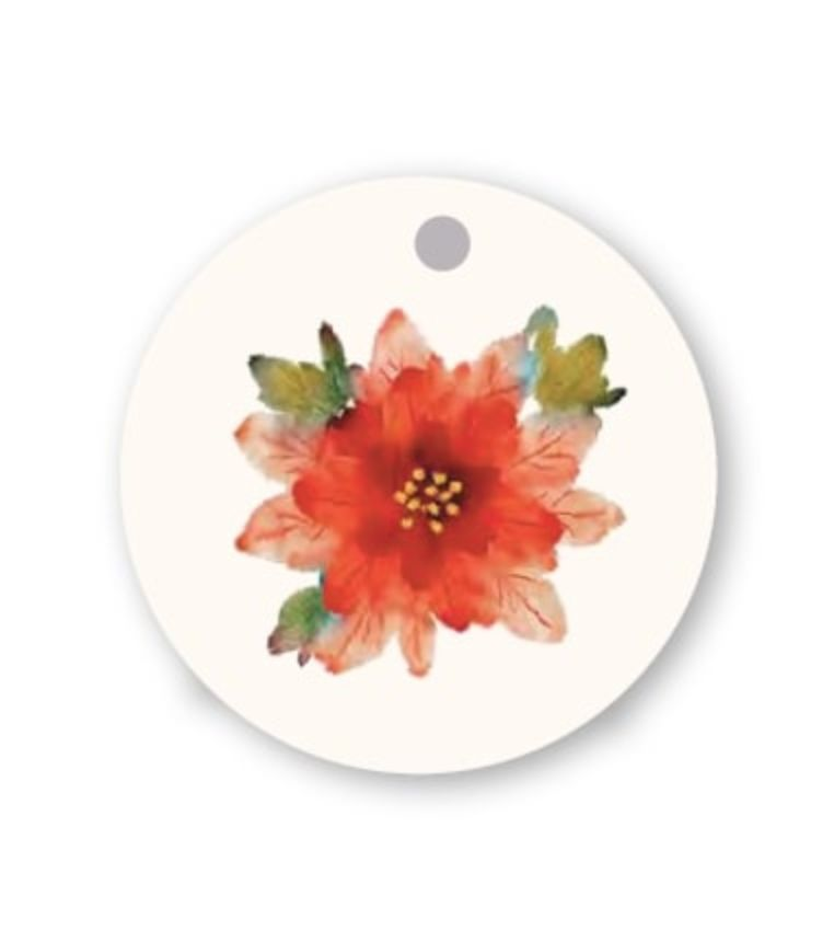 Hallmark: Christmas Gift Tags - Tree & Wreath (Pack of 12) image
