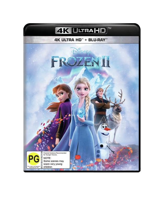 Frozen II on UHD Blu-ray