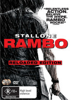 Rambo - Reloaded Edition (2 Disc Set) on DVD