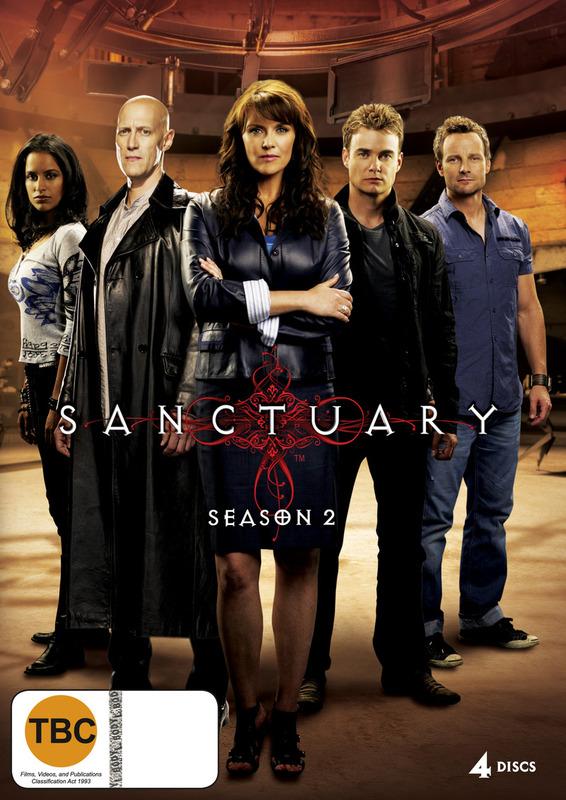 Sanctuary - Season 2 (4 Disc Set) on DVD