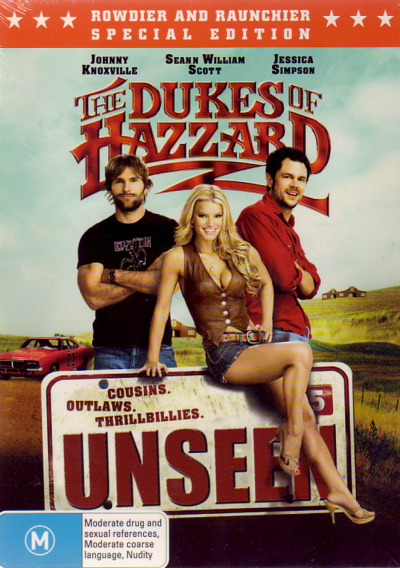 The Dukes Of Hazzard - Unseen on DVD