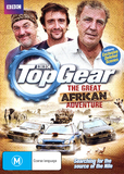 Top Gear: The Great African Adventure on DVD