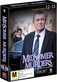 Midsomer Murders - Complete Seasons 12-13 Box Set on DVD