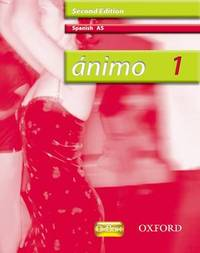 Animo: 1: AS Students' Book by Isabel Alonso De Sudea image