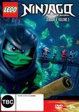 Lego Ninjago: Season 4 - Volume 3 on DVD