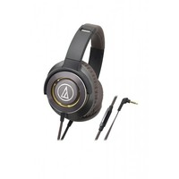 AT Solid Bass Headphones Smartphone (Gunmetal)