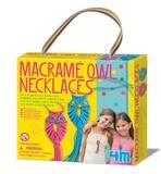 4M: Craft - Macramé Owl Necklaces