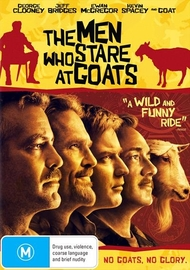 The Men Who Stare At Goats on DVD