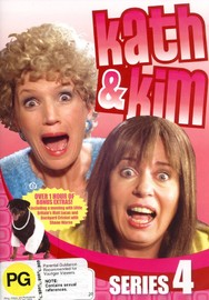 Kath & Kim - Series 4 (1 Disc) on DVD image