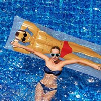Pop Fix Inflatable Pool Hunk Float