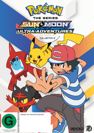 Pokemon The Series: Sun & Moon - Ultra Adventures Collection 2 on DVD