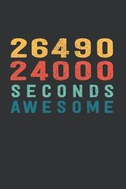2 649 024 000 Seconds Awesome by Visufactum Notebooks