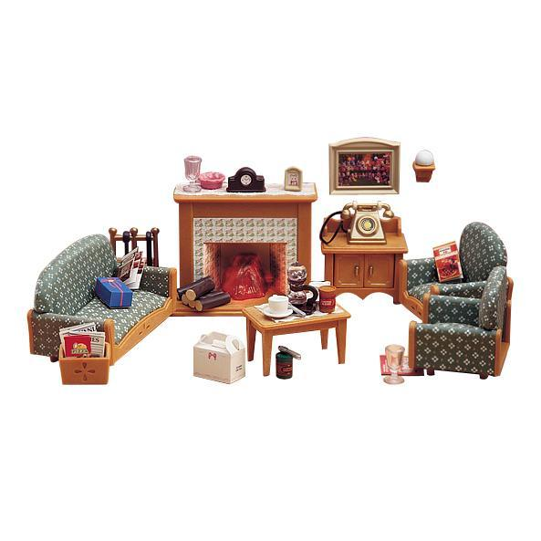 Sylvanian Families Deluxe Living Room Set Toy At Mighty Ape Australia