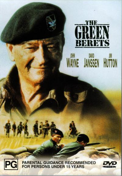 Green Berets on DVD image