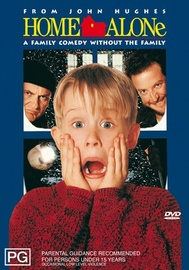 Home Alone on DVD image