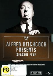Alfred Hitchcock Presents - Season 5 on DVD image