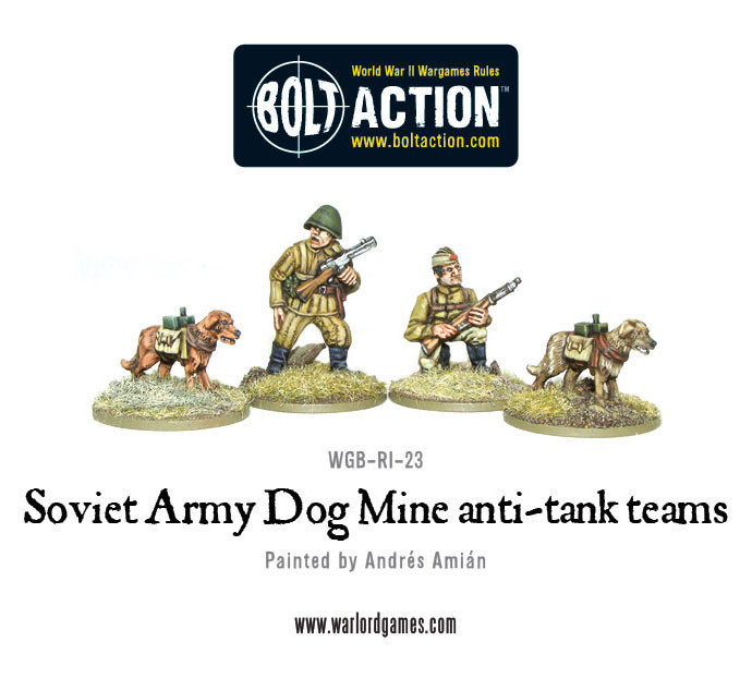 Soviet Army - Anti-Tank Dog Teams image