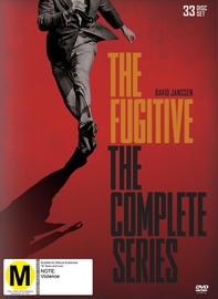 The Fugitive - The Complete Collection (33 Disc Box Set) on DVD