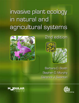 Invasive Plant Ecology in Natural and Agricultural Systems by Barbara Booth image