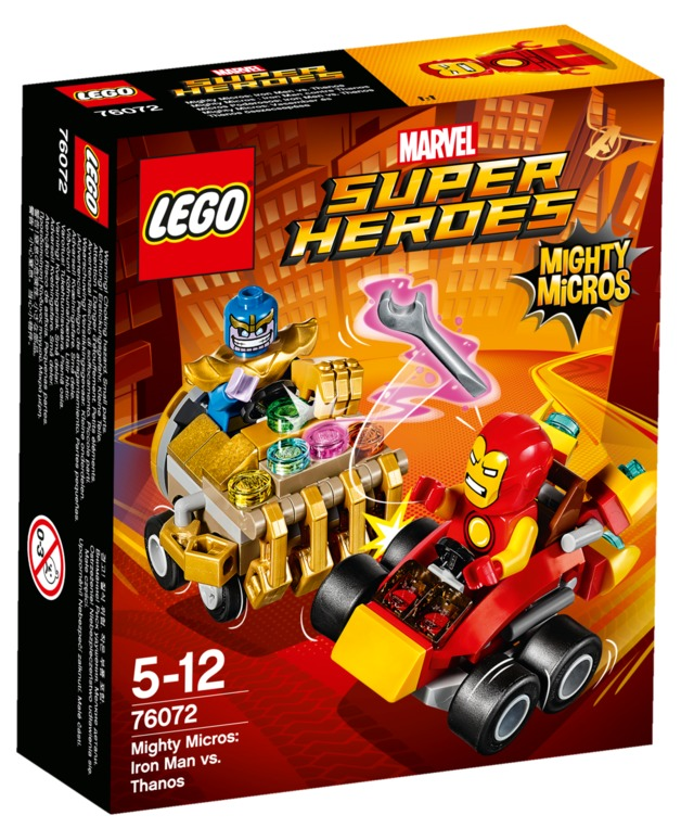 LEGO Super Heroes: Mighty Micros - Iron Man vs. Thanos (76072)