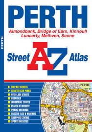 Perth Street Atlas by Geographers A-Z Map Company