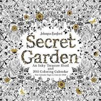 Secret Garden 2018 Wall Calendar by Johanna Basford