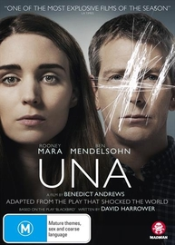 Una on DVD image