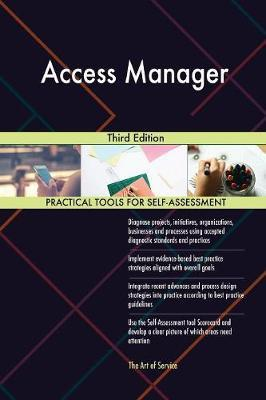 Access Manager Third Edition by Gerardus Blokdyk image