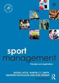 Sport Management by Russell Hoye image