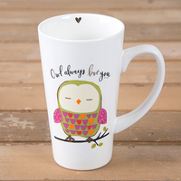 Natural Life: Latte Mug - Owl Always Love You