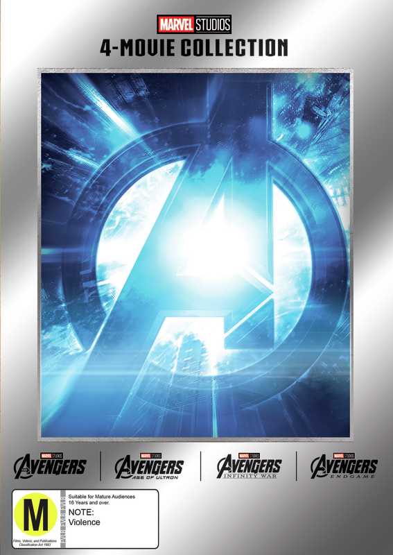 Marvel: Avengers Quad Pack on DVD