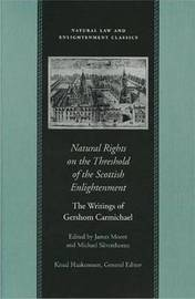 Natural Rights on the Threshold of the Scottish Enlightenment by Gershom Carmichael image
