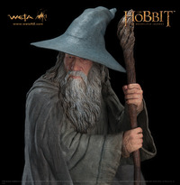 The Hobbit Gandalf the Grey Statue - by Weta image