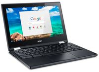 "Acer C738T Flip Chromebook 11.6"" Touchscreen Intel Celeron N3150 4GB image"