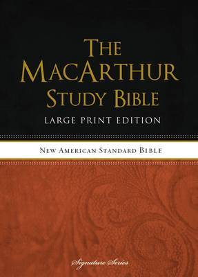 MacArthur Study Bible-NASB-Large Print by Thomas Nelson image