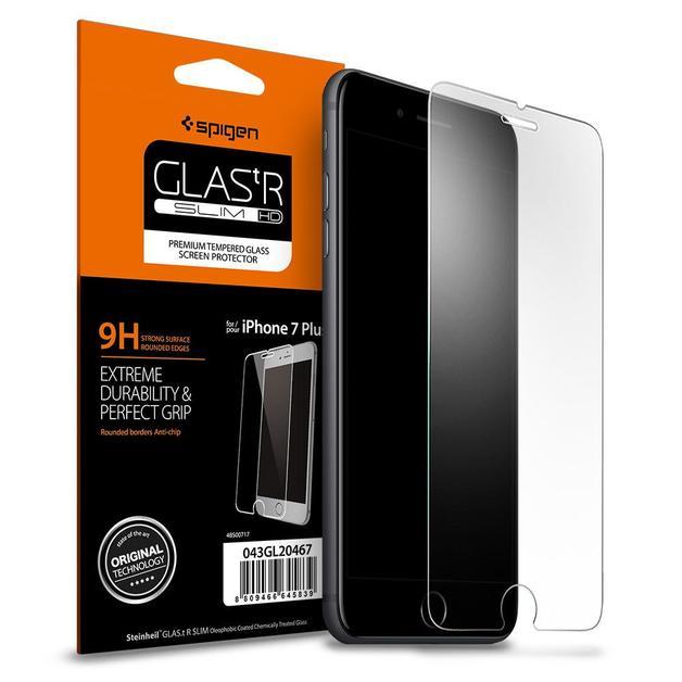 Spigen: iPhone 7 Plus - Premium Tempered Glass Screen Protector